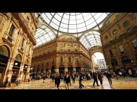 Galleria Vittorio Emanuele II - world's oldest shopping mall, Milan, Italy