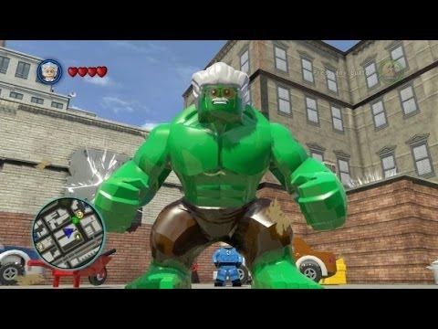 игра super видео heroes lego marvel