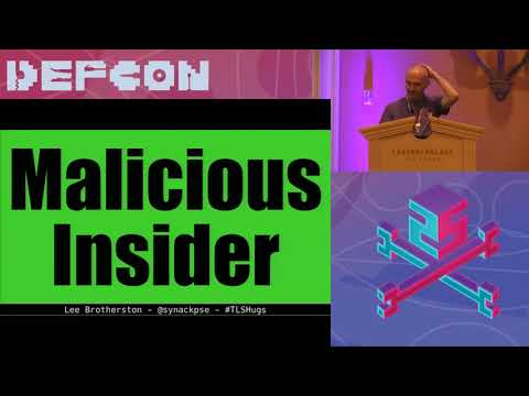 DEF CON 25 Crypto and Privacy Village - Lee Brotherston -  Blue Team TLS Hugs