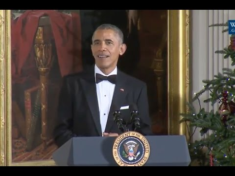 Obama's Final Kennedy Honors Reception -Full Speech - 2016
