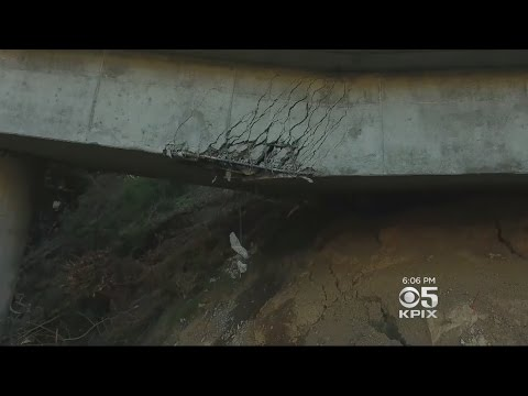 Big Sur Tries To Cope With Closure Of Highway 1 Due To Pfeiffer Canyon Bridge Damage
