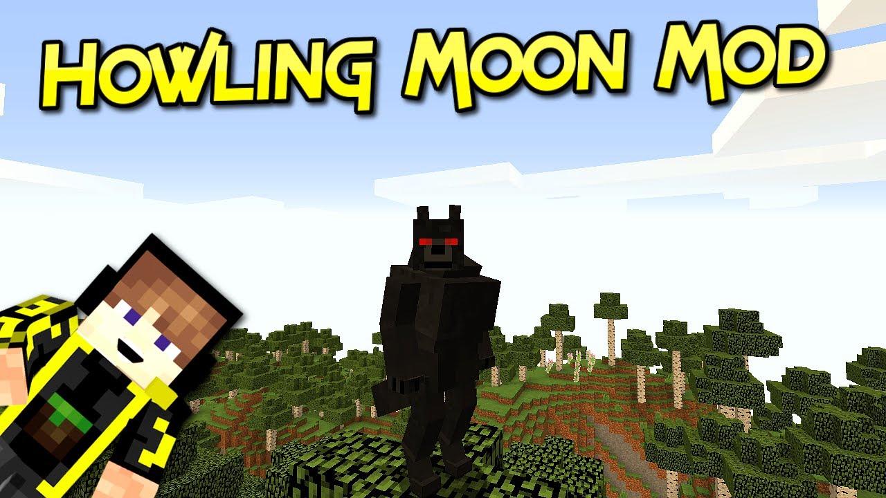 Howling Moon Mod  Transfórmate En Hombre Lobo   Minecraft ...