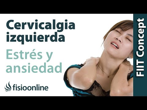 dolor cervical por estres