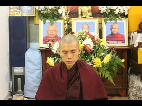 5 Jours Meditation (Francais) : Sayadaw Ashin Ottamasara Teaching (with French Subtitle)