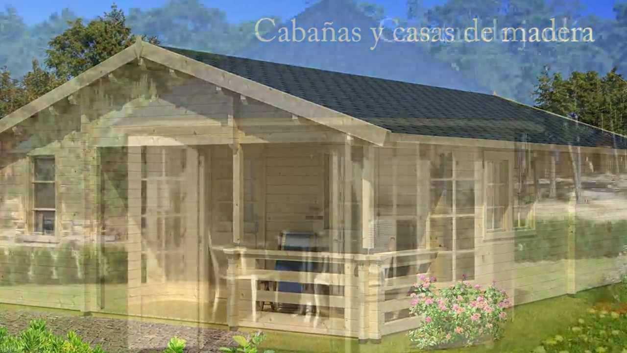 Venta de distintos modelos de casas de madera en la coru a - Cocheras de madera prefabricadas ...