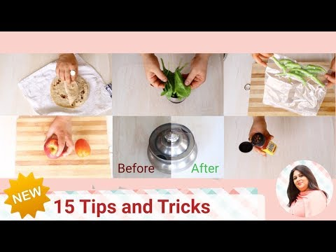 15 NEW Amazing and Useful Kitchen Tips and Tricks   Cooking Essentials   Kitchen Hacks India