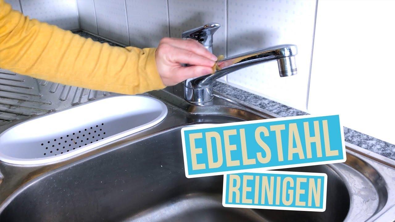 Turbo Edelstahl reinigen und polieren | Spülbecken putzen mit Kartoffeln ED21