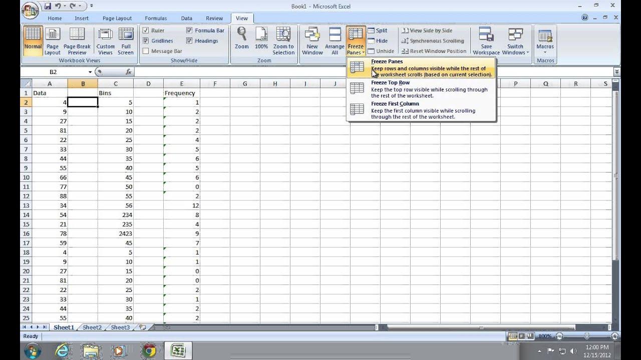 Excel Lock