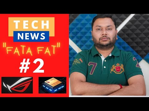 """Tech News """"FATAFAT"""" #2 - Apple AirPods 3 Release Date   POCO X3 Pro Specs Rumors   ASUS ROG Phone 5"""