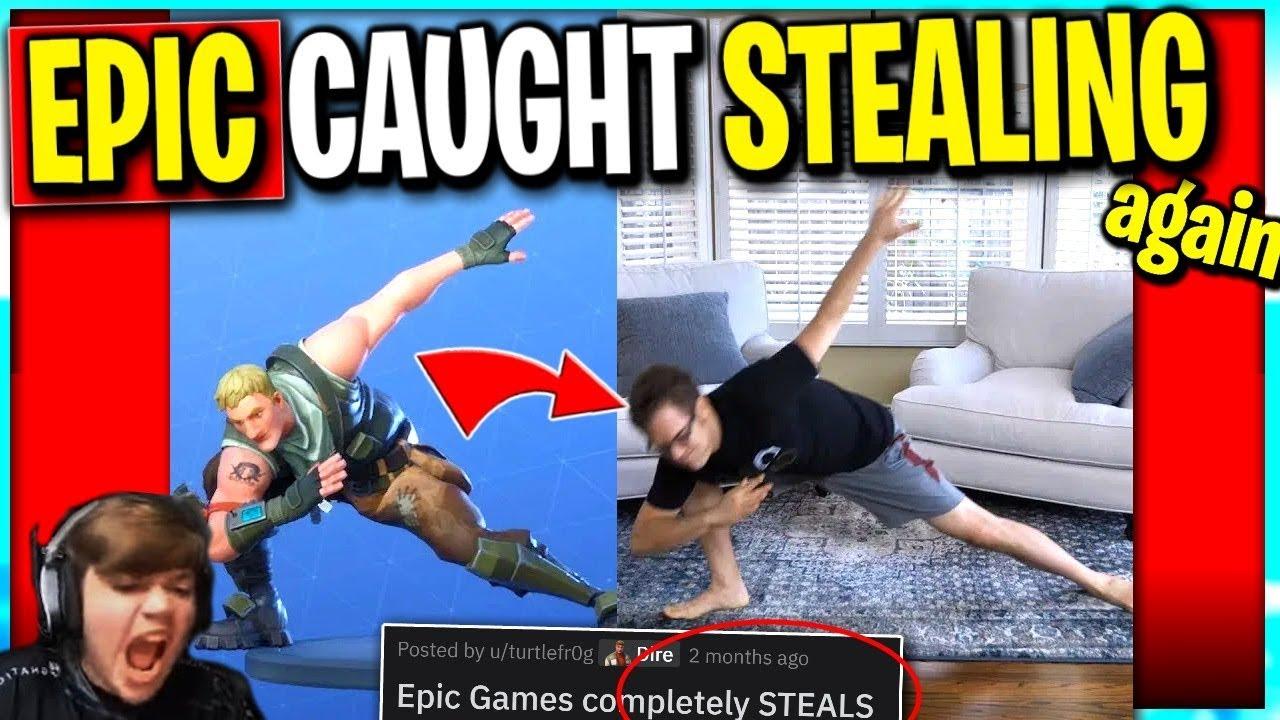 Epic CAUGHT STEALING Again? .. Sollte Epic dem Schöpfer Kredit oder Geld geben? + video