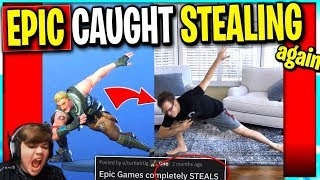 Epic CAUGHT STEALING Again Should Epic Give Credit or  to Creators