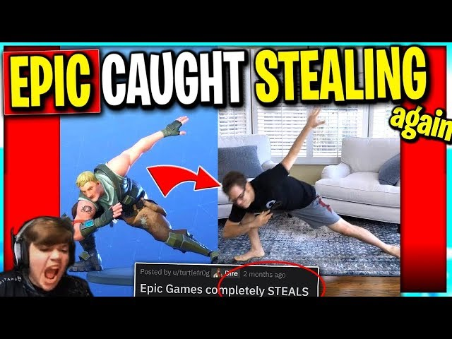 Epic CAUGHT STEALING Again?.. Should Epic Give Credit or $$$ to Creators?
