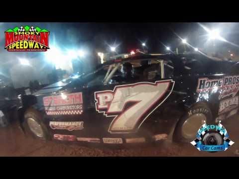 #P7 Matt Steward - Sportsman Late Model - 3-10-17 Smoky Mountain Speedway - Dirt Track In-Car