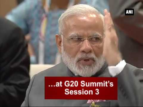 Watch: G20 Summit's Session 3 on partnership with Africa, migration and health - ANI News