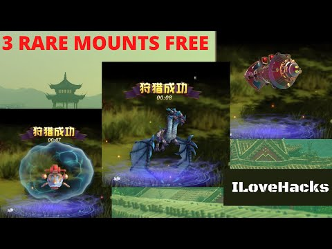 3 RARE MOUNTS FREE / CHINA VERSION / ZISU