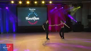 FOWCS 2019 ProAM Routine GOLD Julien Teyssier & Dianeva Poirson