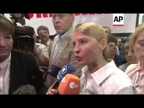 Tymoshenko accuses Putin of lying about troop withdrawals