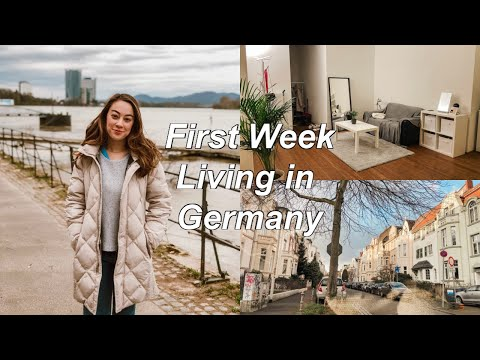 First Week Living in Germany: Starting a Job + Organizing My Apartment