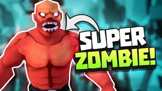 NEW SUPER ZOMBIE EXPLODING ZOMBIE Undead Development Gameplay VR HTC Vive Gameplay