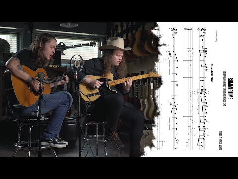 How Billy Strings Plays Summertime - Guitar Lesson