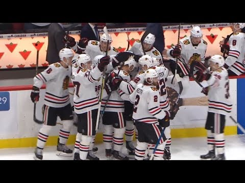 Toews Wins It For Hawks In OT Vs. Ottawa