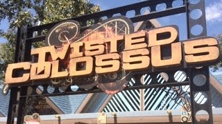 twisted colossus review six flags magic mountain rmc