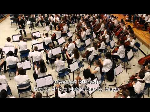 Winter concert by Gruening Middle School Orchestra