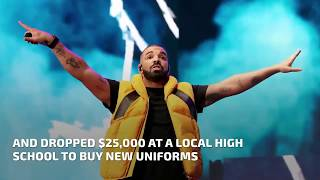 Drake drops a lot of cash to help people in Miami