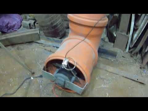 Доработка отопления гаража. Создаём движение воздуха.