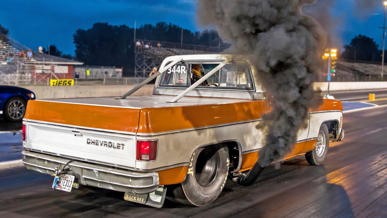 DIESEL Chevy C10 Truck - SMOKE MISSILE! - YouTube