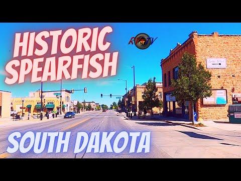 Spearfish Historic Downtown - Leaving South Dakota - Belle Fourche