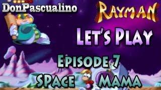 [Rayman] Let's Play - Episode 7 : Le cratère de Space Mama