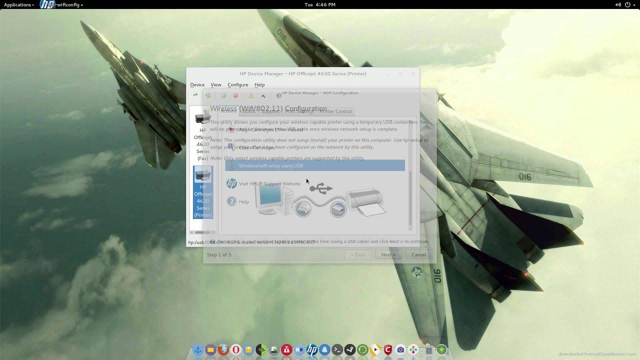 Ubuntu 15 04 - 15 10 Linux HP printer setup