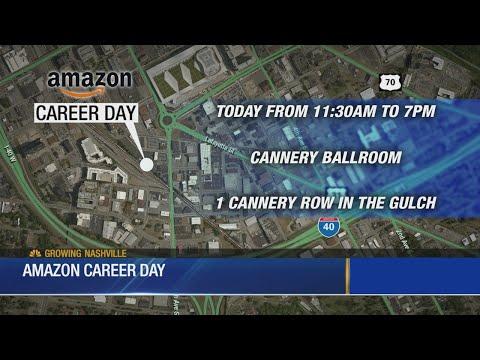 Hundreds Attend Amazon Job Fair In Nashville