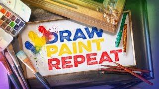 A new art channel from professional fine artist Steve Atkinson