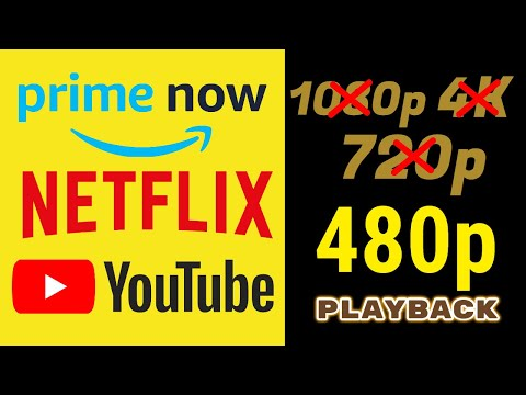 YouTube, Netflix, Prime Video, Hotstar NO HD Streaming From Today | HINDI | Data Dock