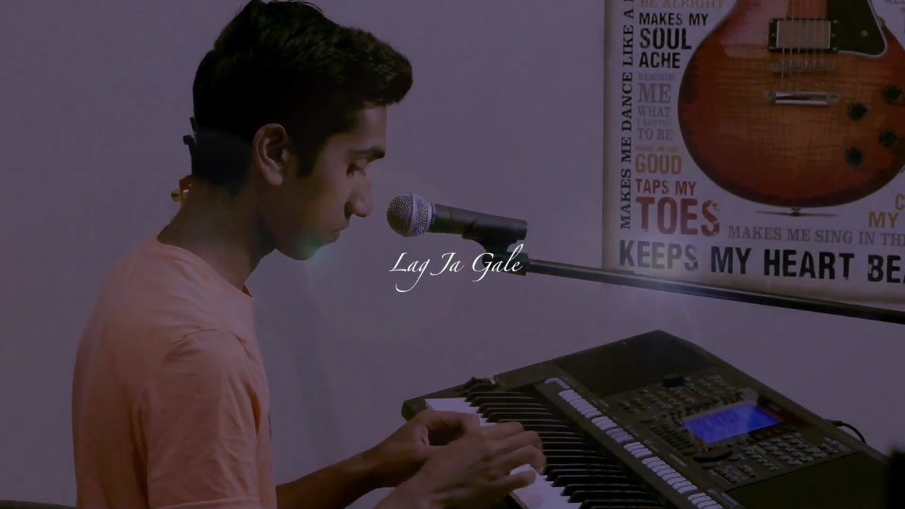 Lag Ja Gale 50 Years Into The Past Acoustic Cover Nikhil