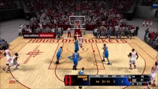 Steph Curry vs Jeremy Lin Scoring Battle! - NBA 2K14 100 Point Challenge (XBOX 360)