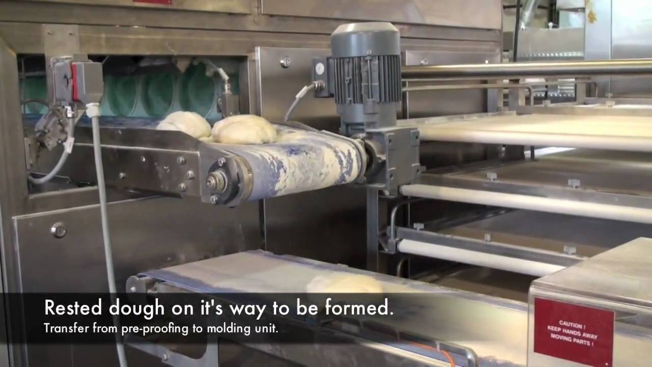 Bread Making Process Youtube