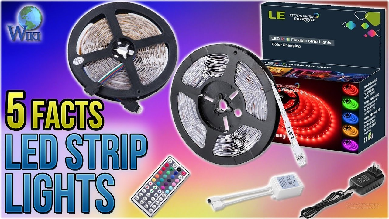 Top 10 LED Strip Lights of 2019 | Video Review