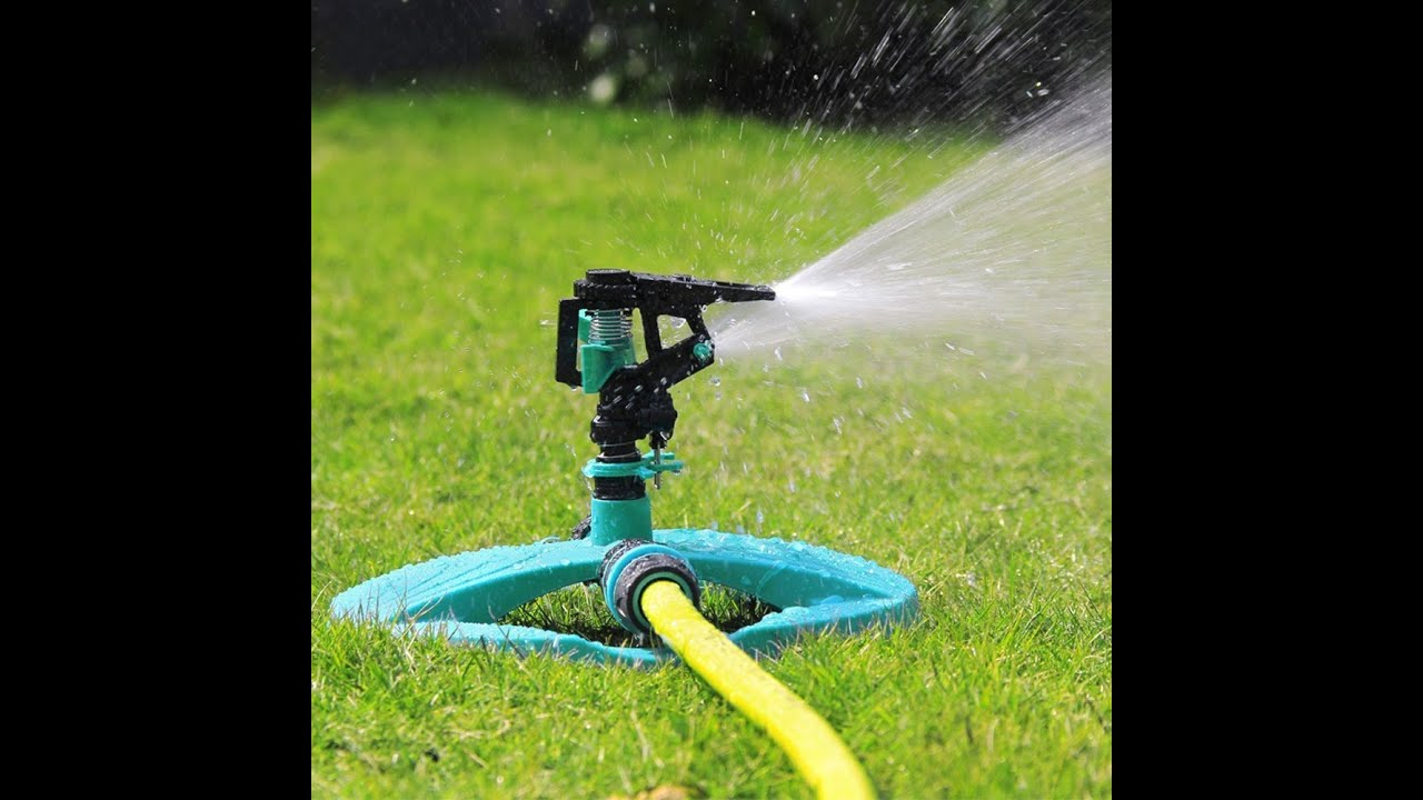 High Quality Review: KMASHI Water Sprinkler System Impulse Long Range Sprinklers For  Garden And Lawn   YouTube