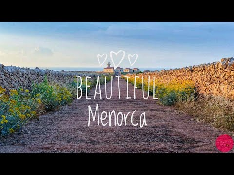 Beautiful Menorca - Tour Ciutadella, Mahon, Punta Nati, Los Delfines (4K Video)