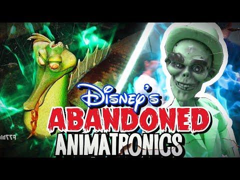 Abandoned Disney Animatronics