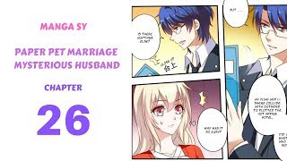 Paper Pet Marriage Mysterious Husband Chapter 26-Don't Resign