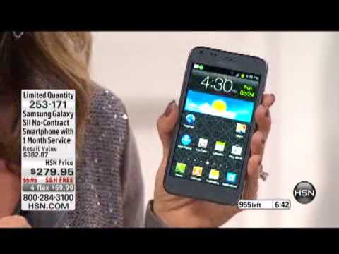 Samsung Galaxy SII NoContract Android 4.0 Smartphone wit...