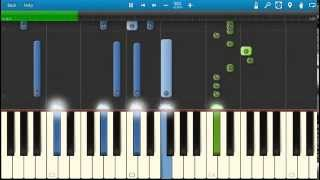 Take That - These Days - Piano Tutorial - Synthesia - How To Play