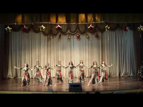 New Year concert of the Oriental Dance School