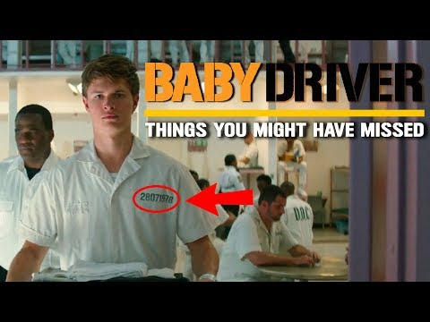 Baby Driver   Things you might have missed   Edgar Wright