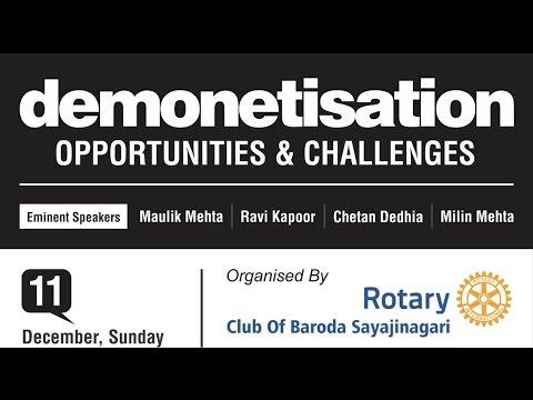 Mr. Ravi Kapoor @ Demonetisation: Opportunities and Challenges - Part Three