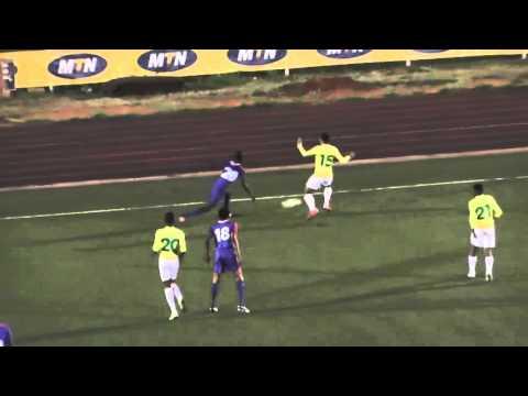 Mbabane Swallows VS Manzini Sundowns - MTN PLS Highlights